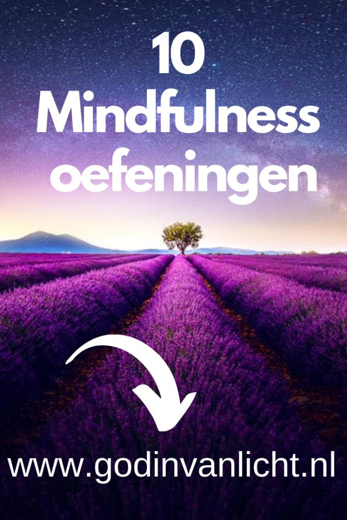 10 mindfulness oefeningen.