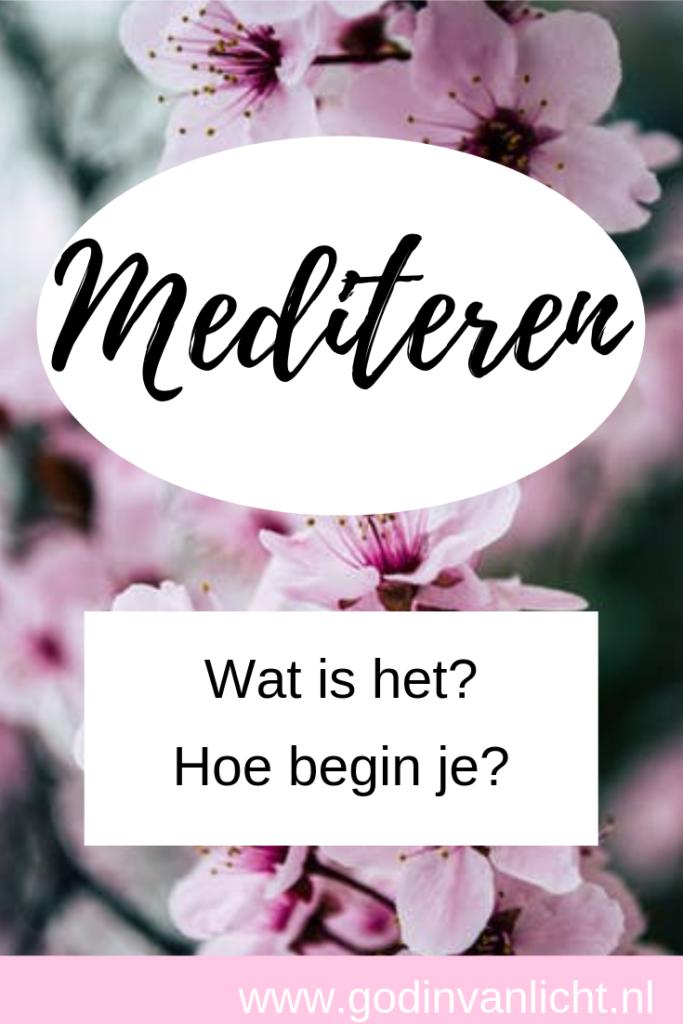 Mediteren wat is het en hoe begin je?