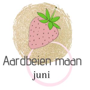 De naam van de volle maan in juni Aardbeien maan.