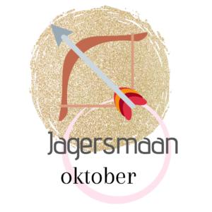 De naam van de volle maan in oktober Jagersmaan.