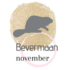 De namen van de volle maan in november Bevermaan.